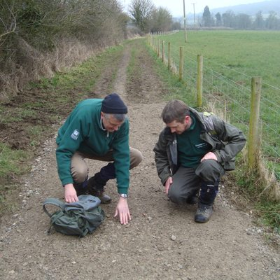 Who are the Cotswold Way volunteer wardens?