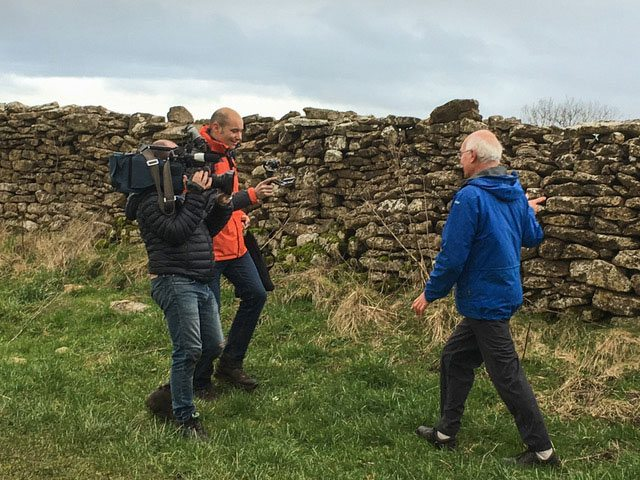 Cotswold Way gets on French TV !!