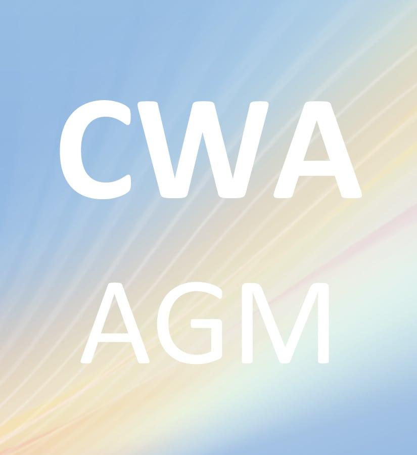 2018 CWA AGM